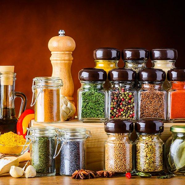 Sales; condimentos y salsas