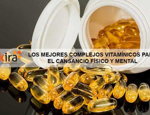 Los mejores complejos vitamínicos para el cansancio físico y mental