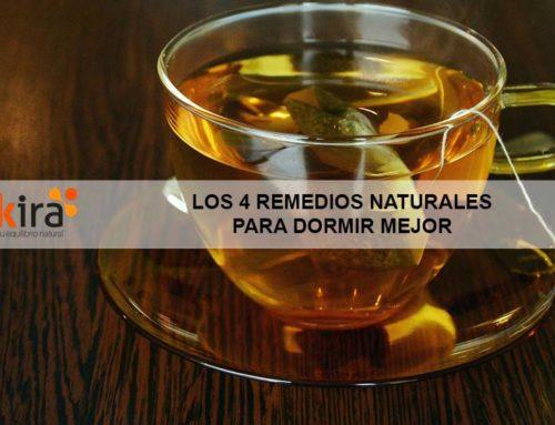 Los 4 remedios naturales para dormir mejor